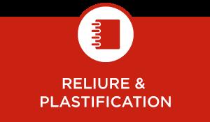 Reliure et plastification